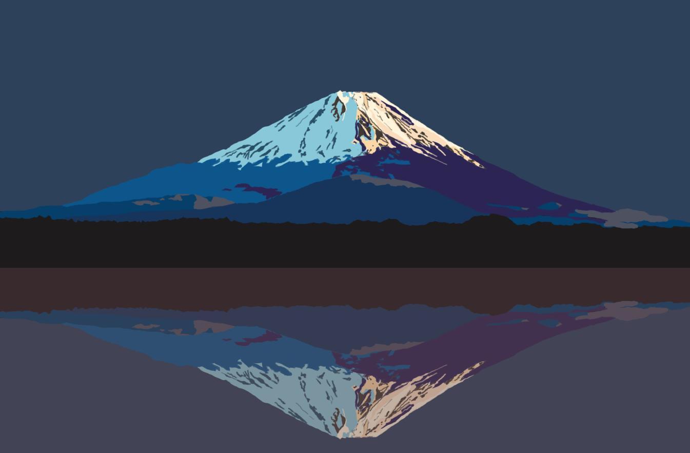 平成25年の出来事:富士山世界文化遺産登録 | PERIOD Tシャツ デザイン 平成 h heisei